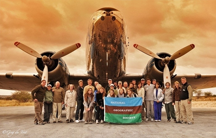 private safari guide - national geographic society